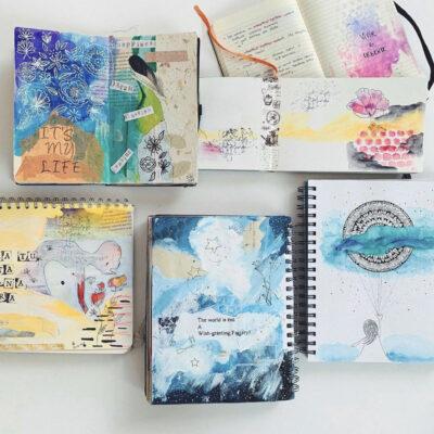 Art Journaling: 3 Razones poderosas para practicarlo