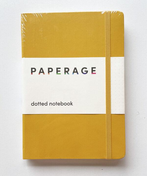 Cuaderno bullet journal amarillo